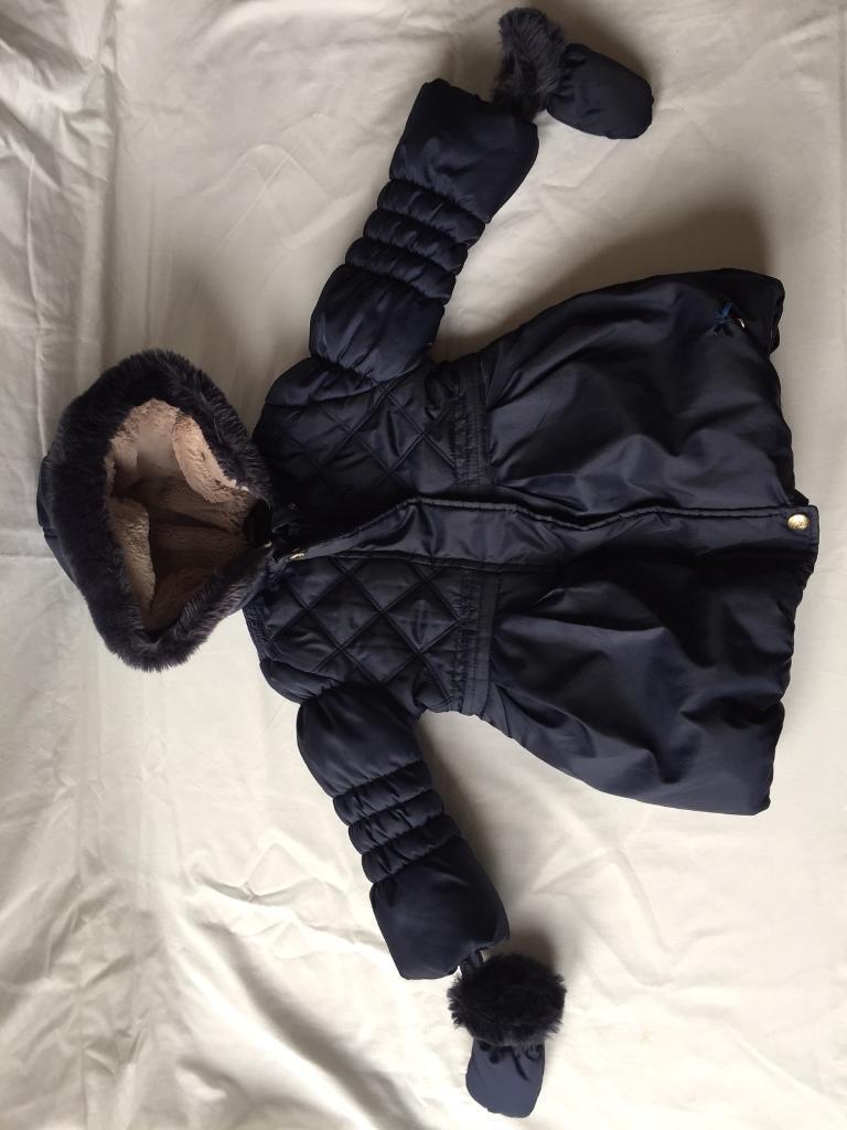 Girls (18-24months) Jasper Conran coat