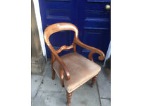 Solid Wooden Carver - free local delivery feel free to view excellent chair , very comfortable.
