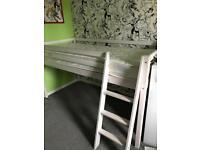 Cabin bed with mattress child