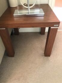 Dwell wooden side tables