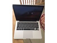 Apple MacBook Pro 13 Inch Retina i5 4GB 128GB Silver (Bought 6 months back)