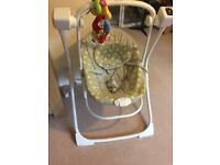 Graco baby swing for sale - almost new