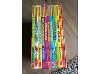 New 10 Horrible Geography books Boxset and 1 Horrible Science Book