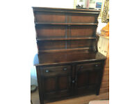 ERCOL Dresser , in good condition. With plate dresser Size L 48in D 18in H 63in Free local delivery