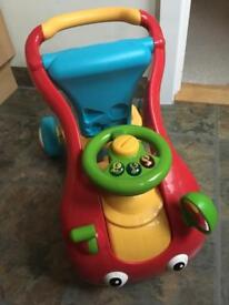 Baby/toddler walker/ ride on toy