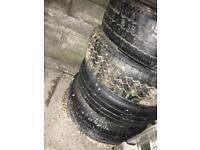 """4 Transit Wheels (Tyres & Rims) 15"""""""