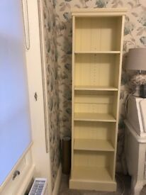 Laura Ashley Egg-shell Bookcase - perfect condition