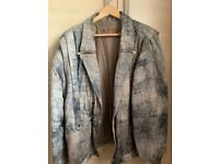 Gents leather Distressed look leather jacket