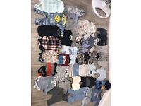 Baby boys clothes from newborn to 18 months