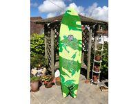 Used, Camo Quad Fish surfboard for sale  Bridgend