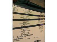 4 X Halsey tickets @Eventim Apollo Sunday 23rd September