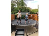 Trampoline 12 foot in size excellent condition