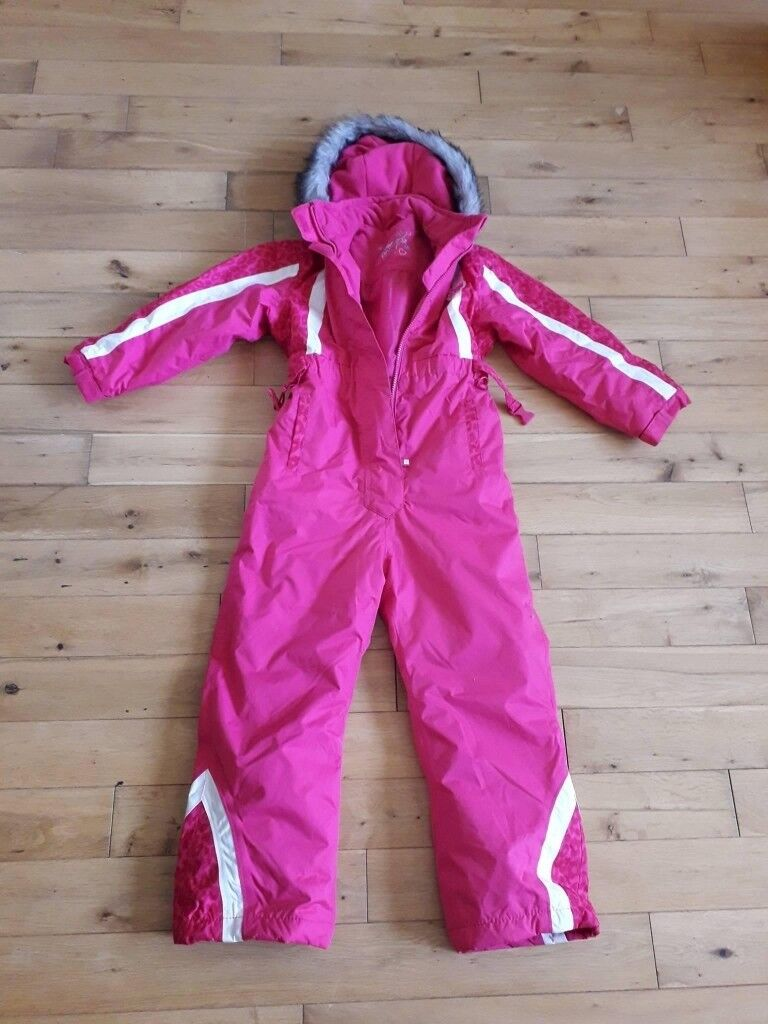 6d7118982 Snow Angel girls all in one snow suit age 6-7 years