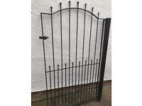 Metal garden gate (2 m high)