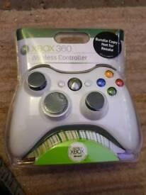 Brand new white Xbox 360 cobtroller