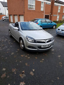 Vauxhall Astra twintop 1.6 convertible
