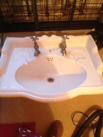 Large Victorian sink