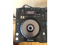 Pioneer cdj850k x2 + Pioneer djm800