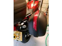 Givi E460 Panniers and rack 2016 Honda NC750X