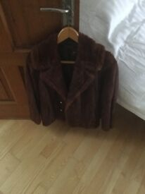 Real vintage mink coat