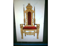 Wedding Thrones For Hire