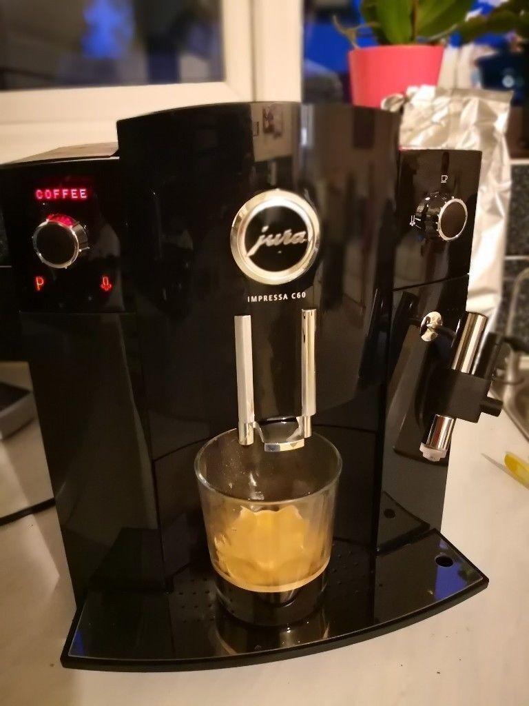 Jura Impressa C60 Espresso Coffee Machine Bean To Cup As New