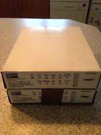 For Sale 2 New, Boxed, Black Dorgard Fire Door Retainers/Holders
