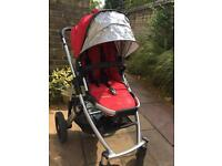 Uppababy vista travel system/ buggy and carrycot