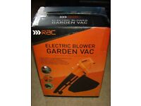 RAC ELECTRIC BLOWER GARDEN VAC NEW IN SEALED BOX