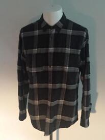 3x Mens ZARA checked flannel shirts