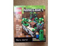Minecraft Lego Micro World 21102