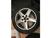 Audi A6 17 inch alloy wheel (fitting A6 from 2005-2011)