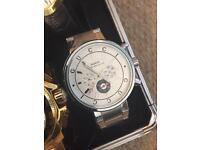 Gucci watch mens large heavy automatic £40 boxed