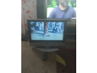 """for sale 26"""" hd lcd widescreen tv with freeview and remote £30"""