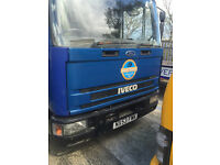 FORD IVECO flatbed 7.5 tonne beavertail lorry