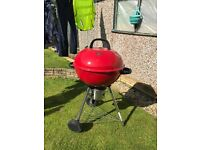 Red charcoal BBQ for sale