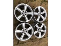 "Genuine Audi Ronal alloy wheels 19""5x112"