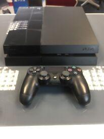 STANDARD PS4 500GB BLACK COMES - 3 MONTHS WARRANTY