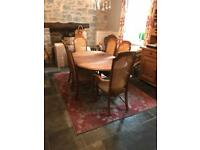 Dining Table snd 6 chairs