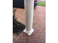 Porch fancy post
