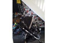 2in1 pushchair pram and stroller