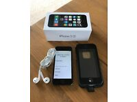 Apple iPhone 5S 16GB Space Grey Vodafone + LifeProof waterproof Case