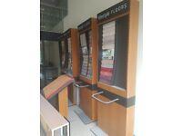 Shop carpet display stands
