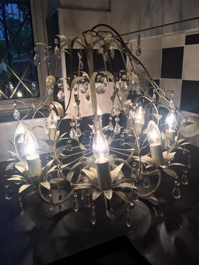 Laura ashley 8 light chandelier in east dulwich london gumtree laura ashley 8 light chandelier aloadofball Gallery