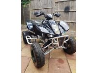 ROAD LEGAL TE450 QUAD BIKE. ENDURO MX BARGIN CHEAP FULL LOGBOOK NOT DIESEL AUTO CAR LICENCE FAST