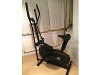 2 in 1 Elliptical Cross Trainer, excerise bike