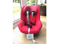 Maxi-Cosi Pearl Children's Car Seat with User Manual