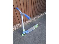 No Fear Fury stunt scooter 120mm wheels taller and wider bars