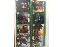 Xbox one games excellent condition £80