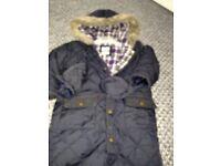 Baby boys jasper conran coat size 12-18months
